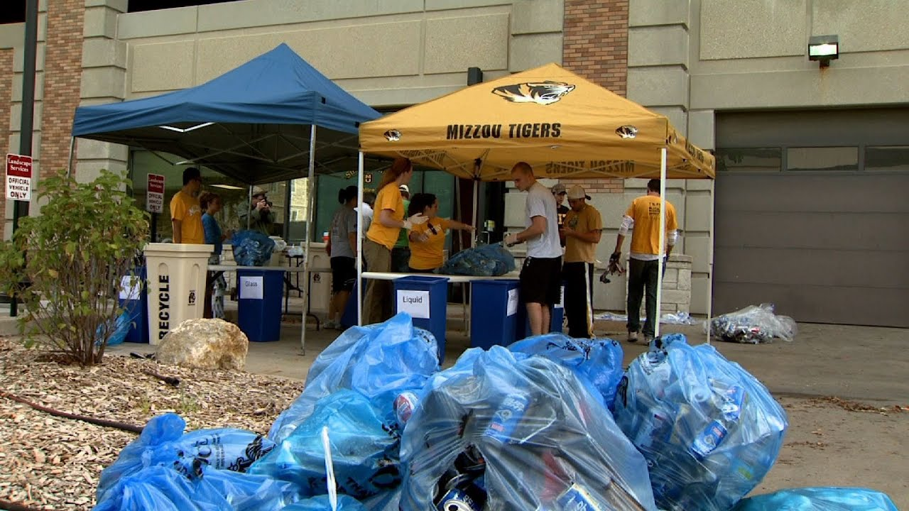 Video news story: Tailgate Recycling Study