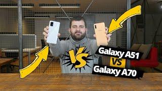 Samsung Galaxy A51 vs Galaxy A70! Hangisi daha mantıklı?
