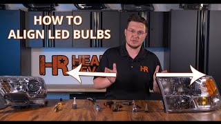 How To Align and Aim LED Bulbs For the Brightest Light Output   Headlight Revolution