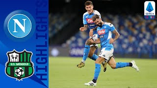 Napoli-Sassuolo 2-0, highlights