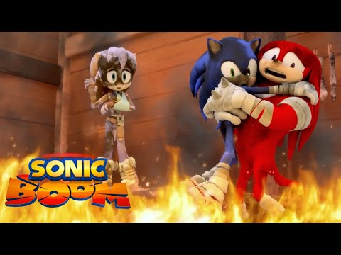 Sonic Boom | Fire in a Crowded Workshop 🔥 | Episode 45