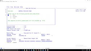 File Manager for z/OS - VSAM Key Positioning