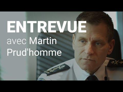 Entrevue avec Martin Prud'homme