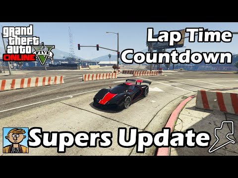 Fastest Supercars (After Smuggler's Run) - GTA 5 Best Fully Upgraded Cars Lap Time Countdown