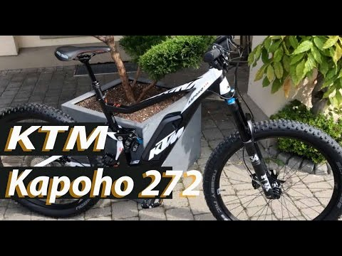 KTM Kapoho 272 Bosch Performence CX 2017 E-Bike