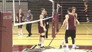 Mac Men's Volleyball team is headed to the semi finals!