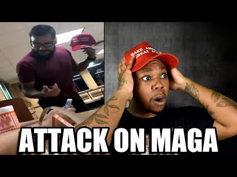 Teen Trump Supporter Attacked For Wearing MAGA Hat