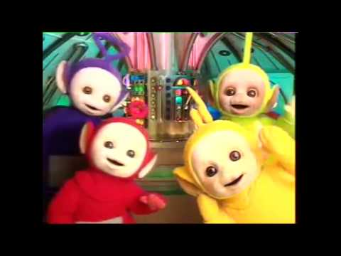 teletubbies theme song but its backwards