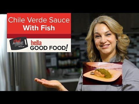 Salsa Verde for fish