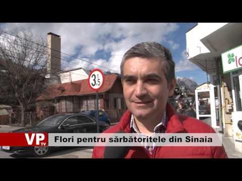 Flori pentru sărbătoritele din Sinaia