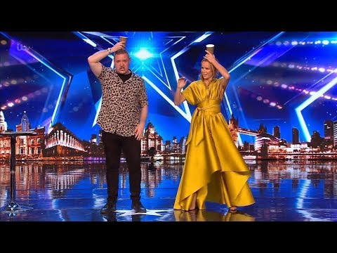 Britain's Got Talent 2019 Graeme Mathews Hilarious Comedic Magician Full Audition S13E05 (видео)