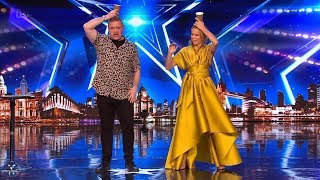 Britain's Got Talent 2019 Graeme Mathews Hilarious Comedic Magician Full Audition S13E05