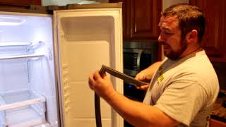 How to Replace LG Refrigerator Door Gasket