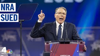 New York Sues to Dissolve the NRA | NBC New York