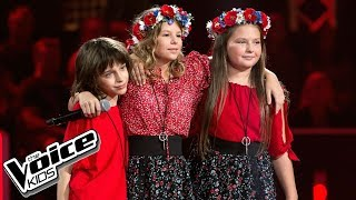 """Klęba, Walicka, Tylek - """"Piechotą do lata"""" - Bitwy - The Voice Kids Poland 2"""
