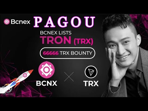 Atualização sobre a Exchange BCNEX , Airdrop Está sendo PAGO + Novo Evento de Bounty TRX !