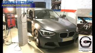 Streaming Audio/Video en WiFi Airplay / MirrorScreen sur écran d'origine iDrive BMW
