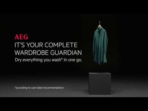 AEG Freestanding Washer Dryer L9WEC169R - White Video 1