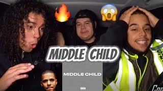J. COLE   MIDDLE CHILD [REACTION REVIEW] BREAKDOWN