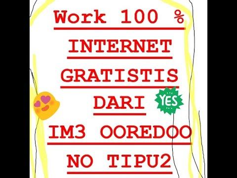 Video LANGSUNG GRATIS !! Internet dengan IM3 OOredoo. WORK 100 %