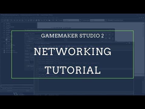 Multiplayer Networking Tutorial (Part 1) [2020] GameMaker Studio 2 | Multiplayer Online Games