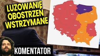 PIS Wstrzymuje Luzowanie Obostrzeń! Część Polski Powinna Być w Zielone Strefie! Analiza Komentator
