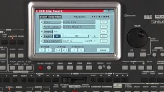 Korg Pa600 Sampler - Sample Editor - Import Wave