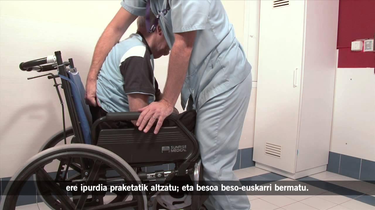 Iktusa - Gurpil-aulkia behar den besaba eseri bideoa