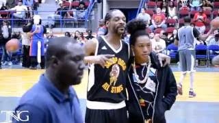 Snoop Dogg All Stars Game FLINT 5/21/2016 Highlights (TNG)