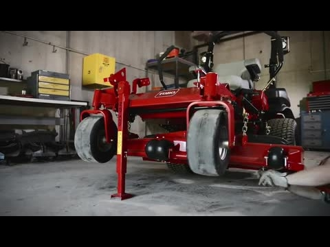 2019 Toro 3000 Series 60 in. Zero Turn Mower in Poplar Bluff, Missouri - Video 2
