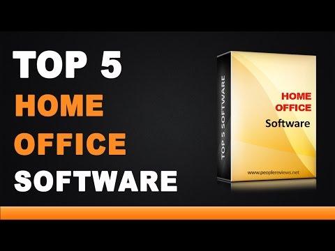 Best Home Office Software - Top 5 List