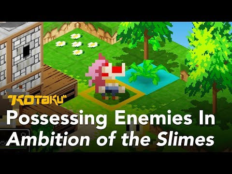 Possessing Enemies In Ambition of the Slimes