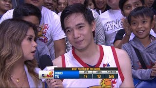 Best Player: Chris Tiu | PBA Commissioner's Cup 2018