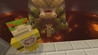 Minecraft Wii U - Super Mario Series - Bowser Jr Turns Good! [15]