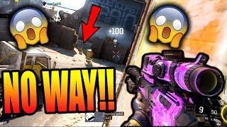 BEST COMEBACK OF ALL TIME!! (BO3 CRAZY SNIPING GAMEPLAY)