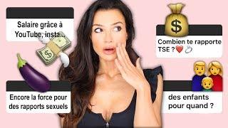 50 QUESTIONS LES + INTIMES !!! SEXE, JALOUSIE, ARGENT...