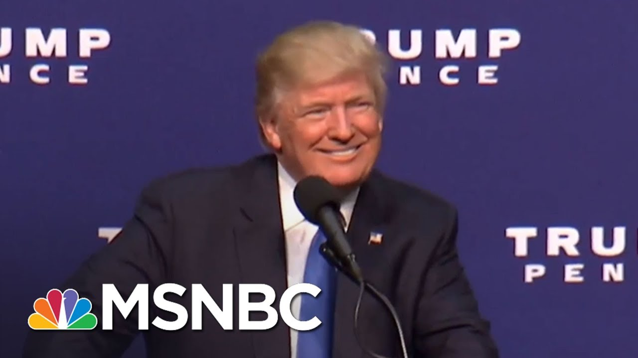 President Donald Trump Flip Flops On TPP | All In | MSNBC thumbnail