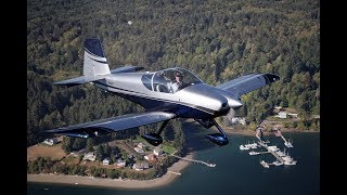 RV-14A Homebuilt Aircraft with SkyView HDX Quick Panel