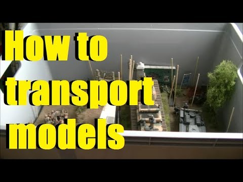 How to transport your models without damage - a suggestion