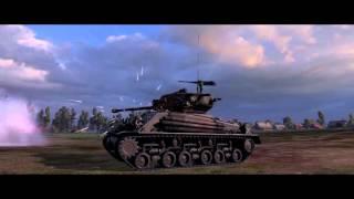 FURY : Tiger battle scene remake in WoT