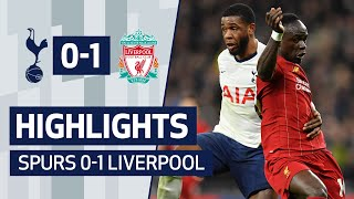 HIGHLIGHTS | SPURS 0-1 LIVERPOOL