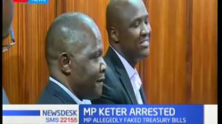 MP Alfred Keter, two others taken to Kiambu CID Headquarters