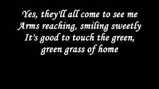 Johnny Cash - Green green grass of home lyrics
