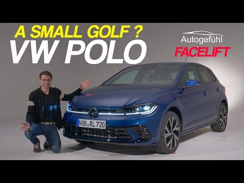 2021 VW Polo Facelift - now a small Golf? - Autogefühl