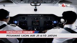 Begini Kronologi Jatuhnya Pesawat Lion Air JT-610