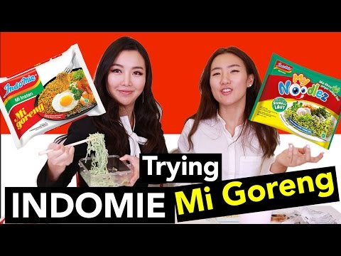 Trying Indomie Goreng! A.k.a.Best Indonesian Ramen! ♥HaleyProject