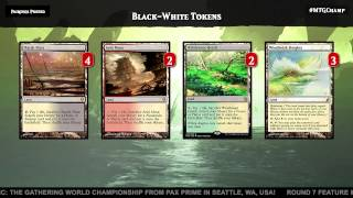 2015 Magic World Championship Deck Tech: White-Black Tokens with Eric Froehlich