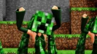 PSY   GENTLEMAN MV Minecraft man parody of Psy gentle man Animation