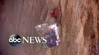 Black Canyon Repel | Drop 1,900 Feet Down With GMA''s TJ Holmes