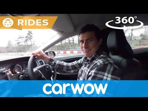 Volvo V40 Cross Country 2017 360 degree test drive | Passenger Rides